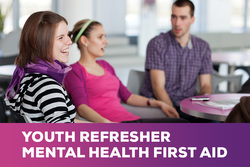 Image for Refresher - Youth Mental Health First Aid