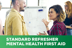 Image for Refresher - Standard Mental Health First Aid - Online