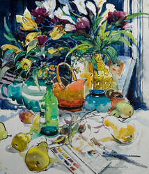 Image for Still Life with Flowers & Helen Goldsmith