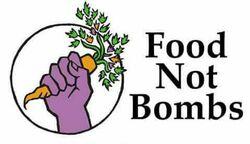 Image for Food not bombs - Free vegan dinner