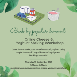 Image for Online Cheese and Yoghurt Making Workshop