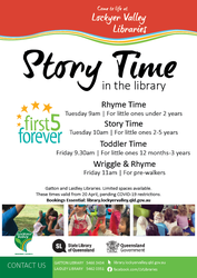 Image for Rhyme Time at Gatton Library