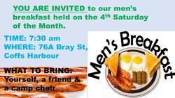 Image for Men's Breakfast