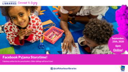 Image for September Pyjama Storytime!