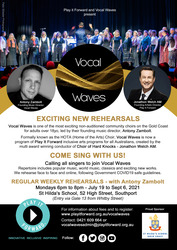 Image for Calling all singers to join Vocal Waves