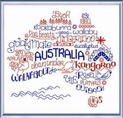 Image for Stitched Up Australia - Cross Stitch Club
