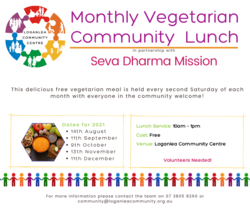 Image for Monthly Vegetarian Community Lunch