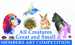 Image for All Creatures Great & Small Art Exhibition