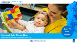 Image for Facebook Baby Rhyme Time! With Coffs Harbour Libraries