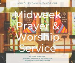 Image for Mid-week prayer and communion service