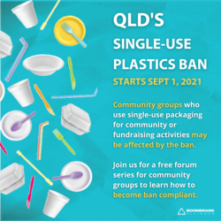 Image for Forum on ban of single-use plastics in Qld