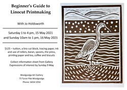 Image for Beginner's Guide to Linocut Printmaking