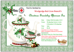 Image for Christmas Friendship Afternoon Tea