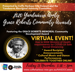Image for Yandaarra Aunty Grace Roberts Community Awards