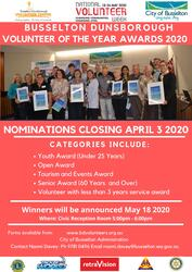 Image for Volunteer Awards Postponed