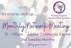 Image for Mackay Regional Mental Health Network Monthly Meeting
