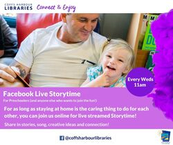 Image for Online Wednesday Storytimes