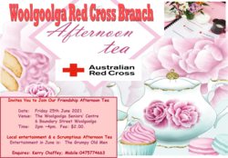 Image for  Friendship Afternoon Tea  2021