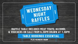 Image for Wednesday Night Raffles