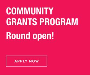 Logo image for Community Grants Program Round 2 - Jan 2021