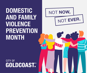 Logo image for Domestic and Family Violence Prevention Month May 2021