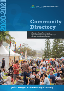 Logo image for Download the Port Macquarie-Hastings PDF Directory