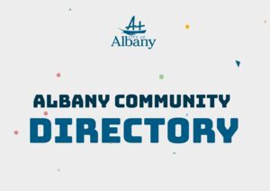 Logo image for PDF Albany Commumnity Directory