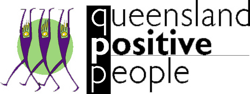 Logo image for Queensland Positive People
