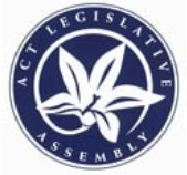 ACT LEGISLATIVE ASSEMBLY