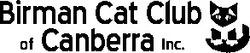 BIRMAN CAT CLUB OF CANBERRA INCORPORATED