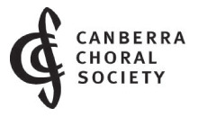 CANBERRA CHORAL SOCIETY INC