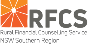 RURAL FINANCIAL COUSELLING SERVICE NSW SOUTHERN REGION