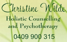 Christine Wilde Holistic Counselling and Psychotherapy