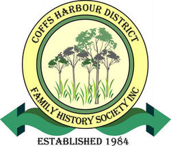 Coffs Harbour District Family History Society