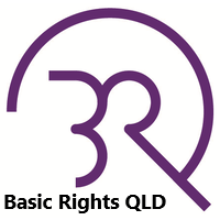 Basic Rights Queensland.  Logo