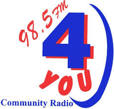 98.5 FM Capricorn Community Radio 4YOU  Logo