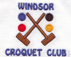 Windsor Croquet Club Inc. Logo