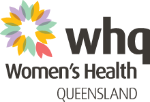 Women's Health Queensland Logo