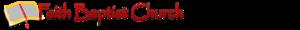 Faith Baptist Christian School (Gladstone) Logo