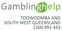 Lifeline Gambling Help Toowoomba and South West Qld Logo
