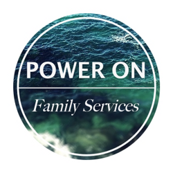 Power On Family Services Logo