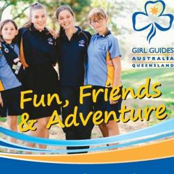 Girl Guide Hut - Mount Lofty, Toowoomba Logo