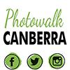 #PhotowalkCanberra Logo