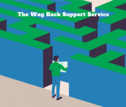 The Way Back Support Service Logo