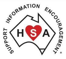 Heart Support Australia Volunteer Logo