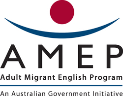 Navitas Adult Migrant English Program (AMEP) Logo
