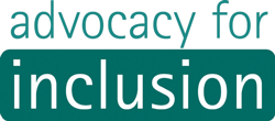 Advocacy for Inclusion Individual Advocacy  Logo