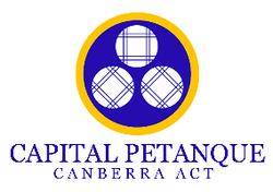Capital Petanque Club Logo