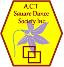ACT Square Dance Society Inc. Logo