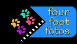 Four Foot Fotos Pet Photography - Private Studio & Office Logo